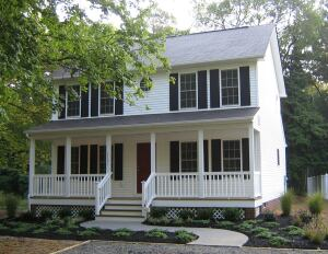 Built by First Richmond Associates on an infill lot in Henrico County, Va.,the three-bedroom, affordably priced home was recently certified Bronze under the National Green Building Standard.
