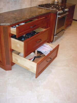 Improved drawer glides and dovetailing are available at every price point.