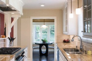 Ranch remodel reclaims open space