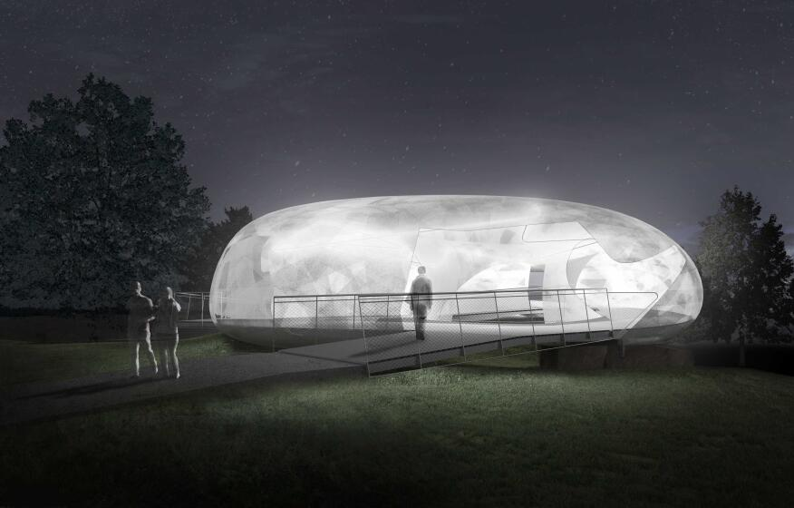 2014 Serpentine Gallery Pavilion - Indicative CGI, night