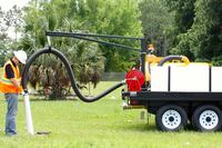 Hydro excavator by Vac-Tron Equipment