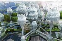 Elevated Pods Proposal Reinvents Paris Architecture