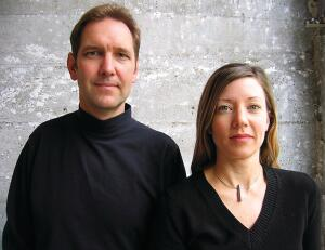 Jim Zack and Lise de Vito.