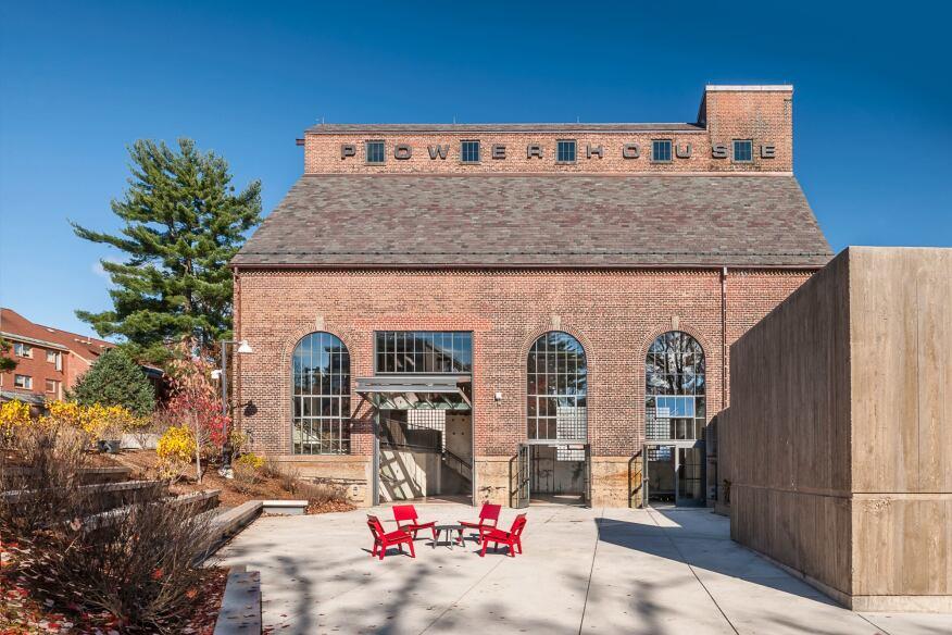 Powerhouse Student Event Space, Bruner/Cott & Associates, Amherst, Ma.