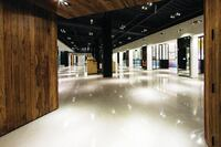 Polished Concrete Overlay Produces Showroom Quality
