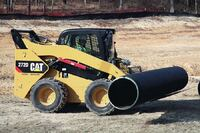 Caterpillar + 272D skid-steer