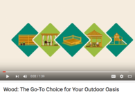 Video: Share with Your Customers: Wood Is the Go-To Choice for Outdoor Living