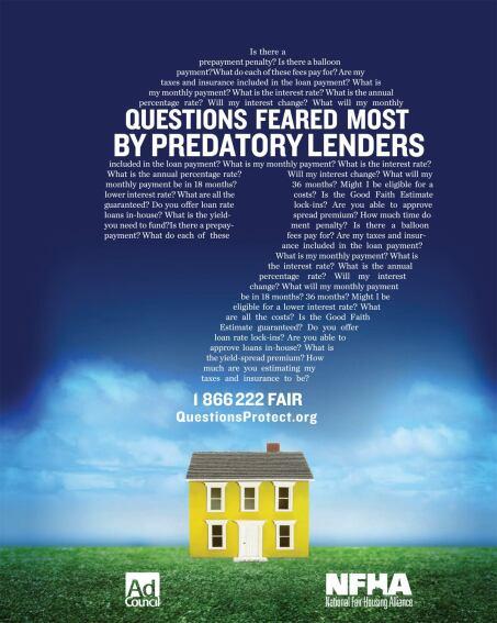 HUD Tackles Predatory Lending