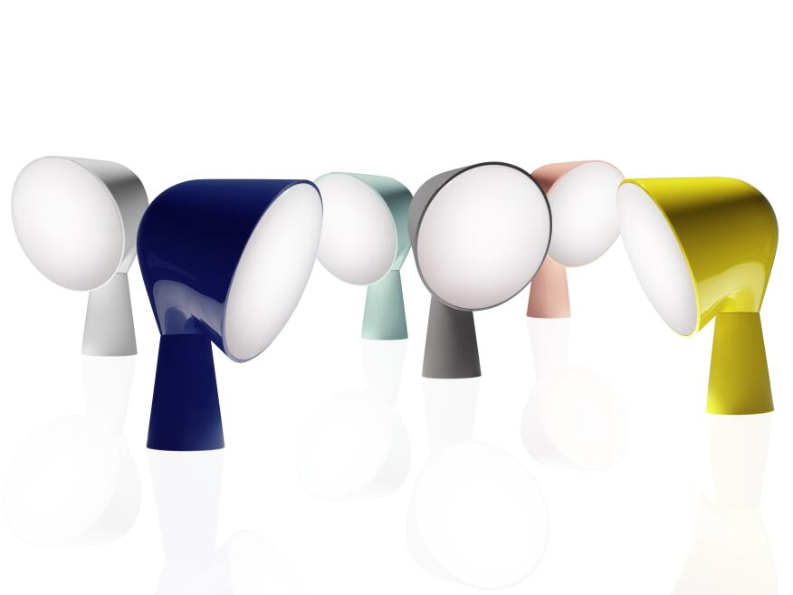 The Binic table lamp by Ionna Vautrin is now avialable in a new color palette.