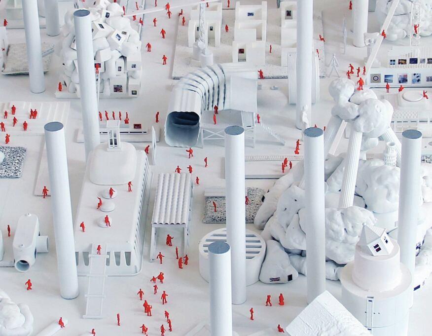 """Andrew Kovacs' """"Guggenheim Helsinki Model"""""""