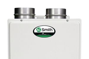 A.O. Smith's Space Aware Tankless Water Heater