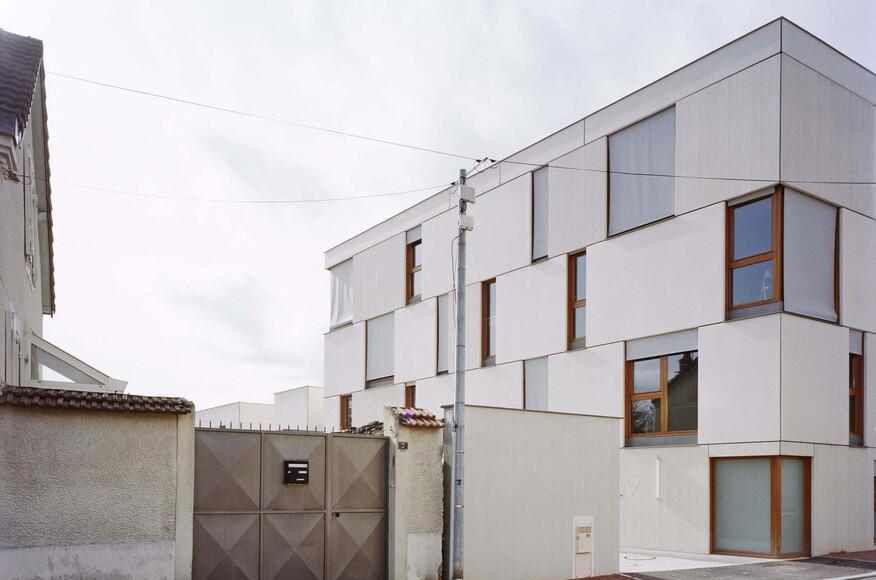 dijon concrete housings architect magazine ateliers o s architectes dijon france. Black Bedroom Furniture Sets. Home Design Ideas