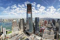 One World Trade Center Rises with High-Strength Concrete