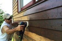Refinishing a Hail-Damaged Home