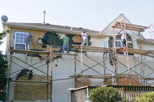 Fixing a Botched Stucco Job