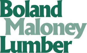 Logo for Boland Maloney Lumber, acquired 150505 by K-I Lumber