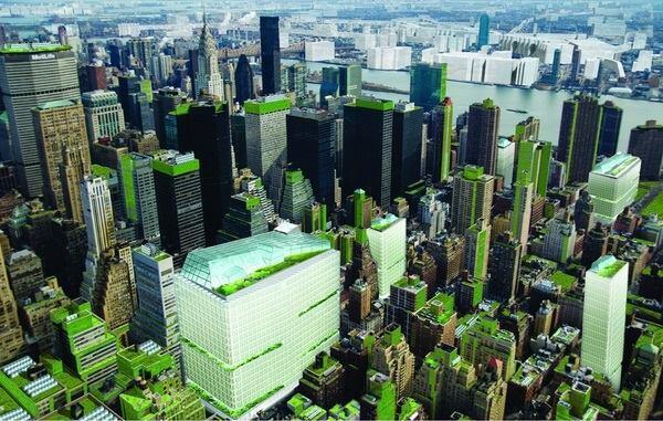 Michael Sorkin Studio's proposal for New York City (Steady) State.
