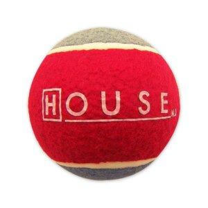 An oversized tennis ball from Amazon.com.