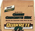 Quikrete Green Concrete Mix