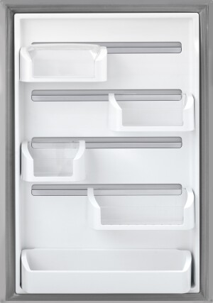 Frigidaire's new Custom-Flex door gives consumers a huge range of storage options.
