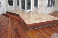 Accenting Decks With Stone