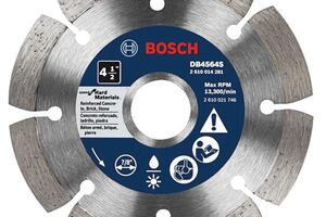 Bosch Expands Diamond Blade Lineup with Custom Solutions