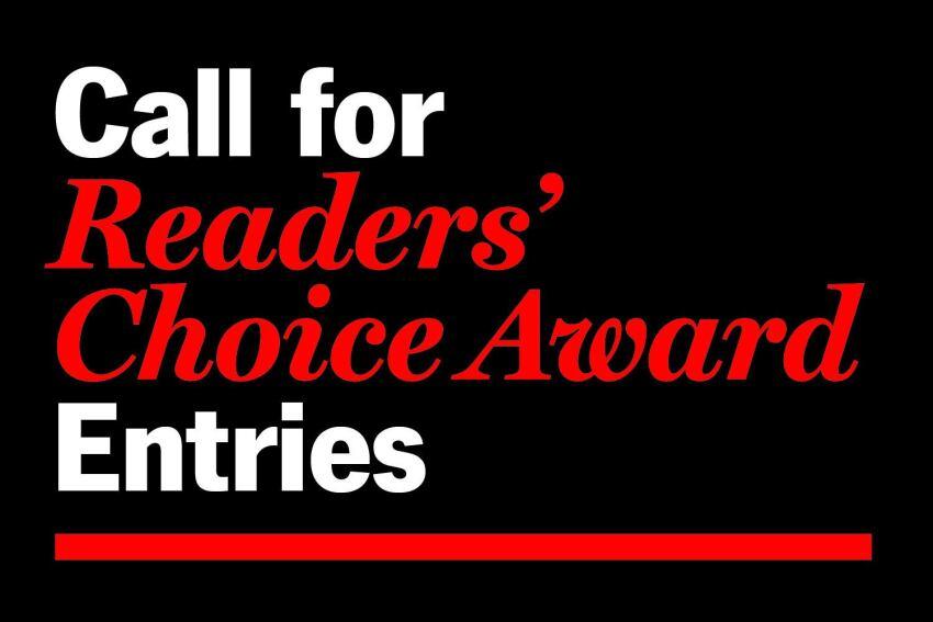 Call for Readers' Choice Award Entries