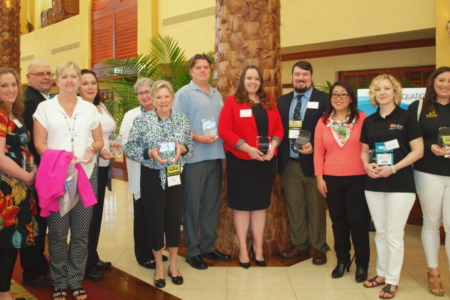 Honorees at this year's breakfast included aquatics professionals and experts showcased in AI's Best of Aquatics and Power issues.