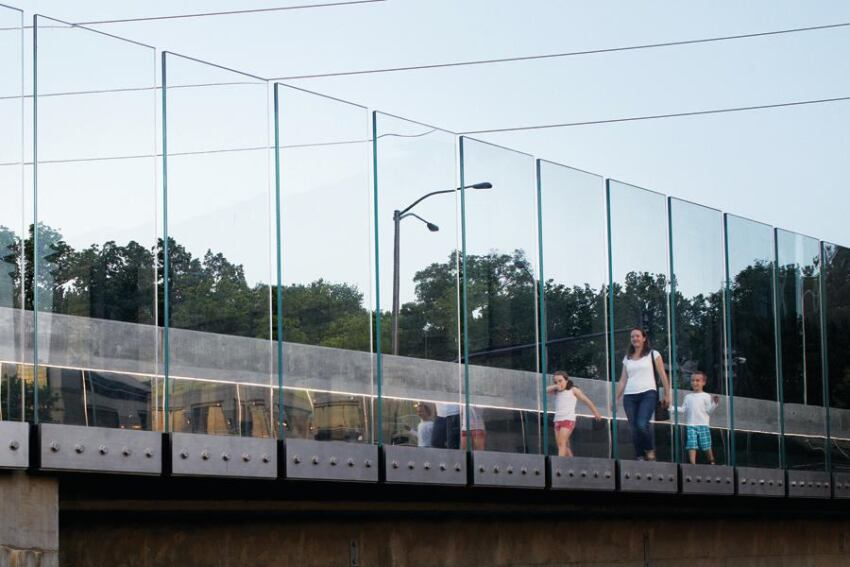 2012 Annual Design Review, Move Category, Award: Troost Bridge