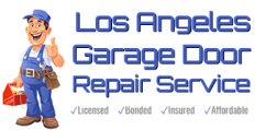 Los Angeles Garage Door Repair Service Logo