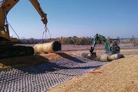 Permanent erosion control mat