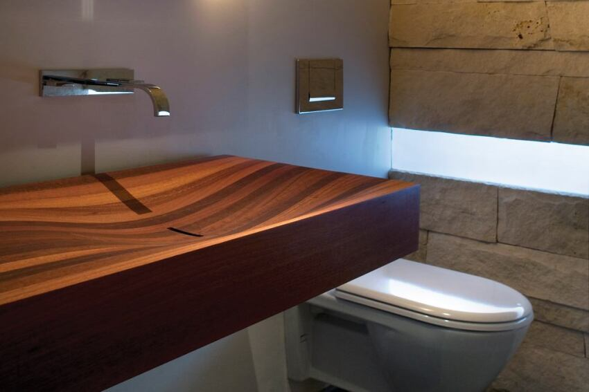 Syncline Powder Room