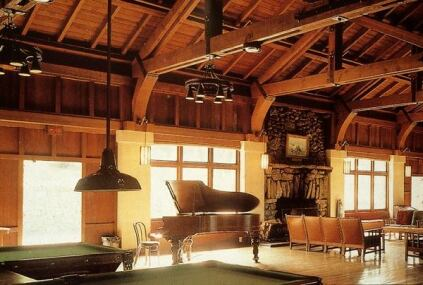 YWCA Asilomar, Administration Building, interior.