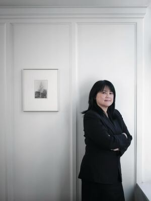 Lydia Tan, executive vice president and director of Northern California operations for Related Cos., photographed in the firm's downtown San Francisco office on April 4, 2011.
