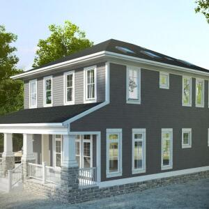 The home, designed by St. Louis-basedJeff Day & Associates, is projected tocost about$450,000.
