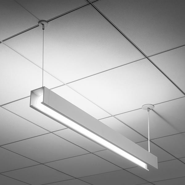 Open, a direct-indirect luminaire from Peerless, was named the Most Innovative Product of the Year at the 2014 Lightfair Innovation Awards.