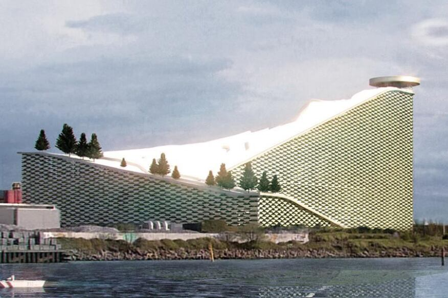 Amagerforbraending Plant, BIG-Bjarke Ingels Group