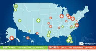 Top, Bottom Cities for Real Estate Investment