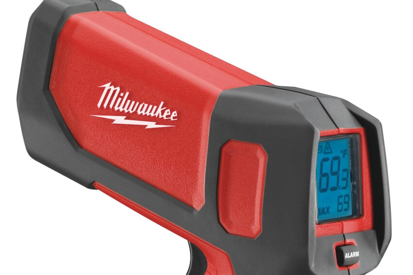Hot Shot: Milwaukee 2265-20 Laser Temp-Gun
