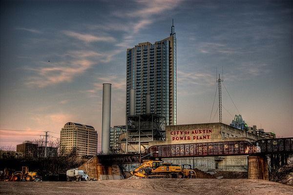 Austin's power plant.