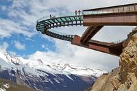 Take in a Deep Breath with the View on the Glacier Skywalk's Glass Floor