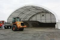 ClearSpan + Hercules fabric storage structures