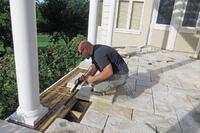 Stone Paver Deck