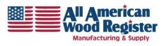 All American Wood Register Logo