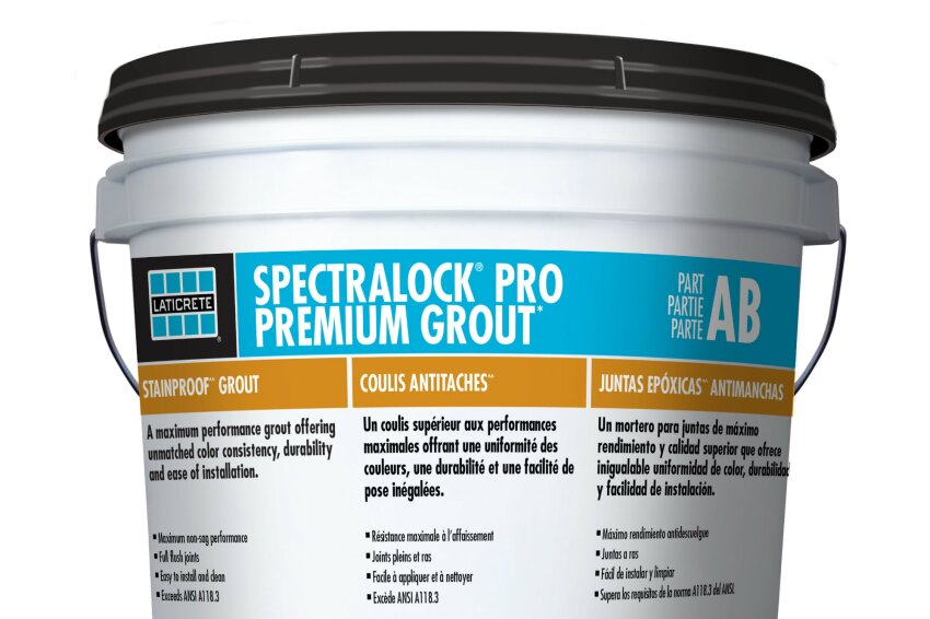 Laticrete Adds SpectraLock Pro Epoxy Grout