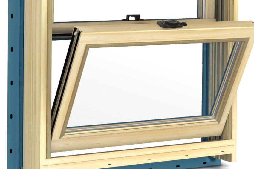 Jeld-Wen wood double-hung windows