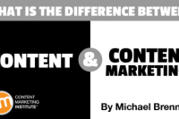 The Difference Between Content and Content Marketing