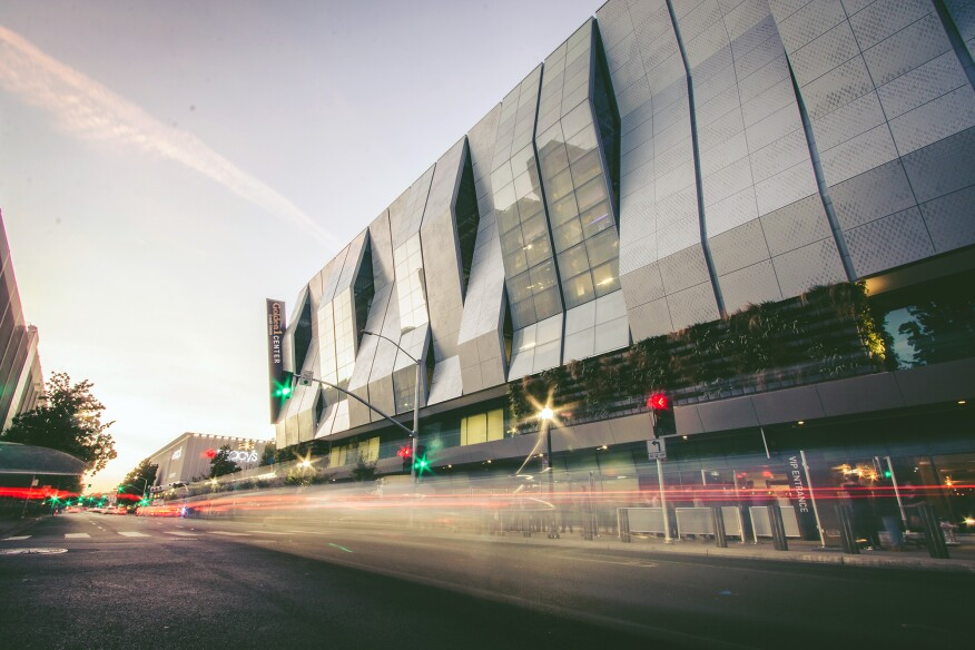 The Golden 1 Center also features 900 linear feet of living walls.