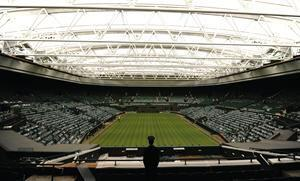 The renovations to Centre Court at London's All England Lawn Tennis Club, home of the Wimbledon Championships, included the installation of a 56,000-square-foot retractable roof and increased the capacity of the stadium by 1,200 seats.