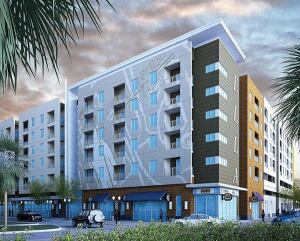 The Ella at Encore will be the first residential building completed in the Encore master plan in Tampa, Fla. It will provide 160 units for seniors.